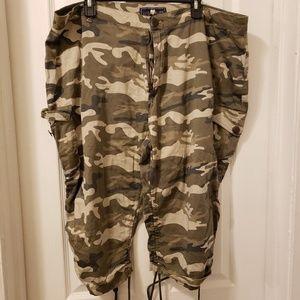 Pants - Pluse size camo pants